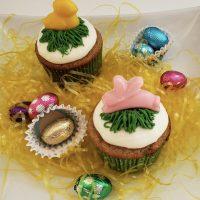 Easter Carrot Cupcake
